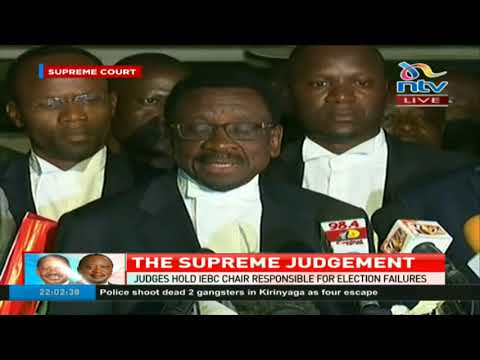 Orengo: If an election is not held in sixty days Uhuru's term in office will end