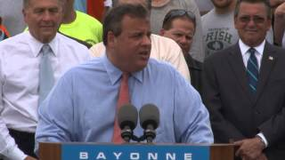 Governor Christie: Nothing Is Given To Us. We Need To Fight For It.