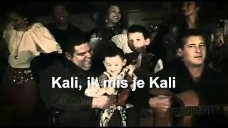 Kali jij allerliefste Kali met tekst voor zangcafé Joop Sche