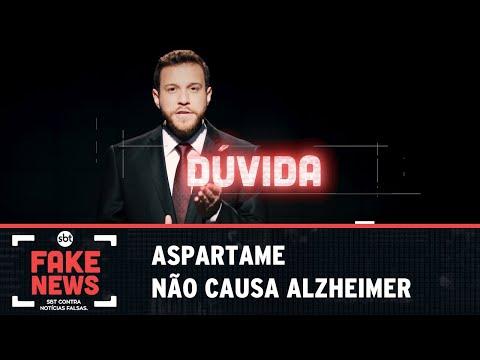 SBT Contra Notícias Falsas: Aspartame não causa Alzheimer