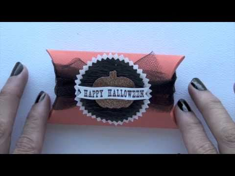 Halloween Treat Holders: Pillow Box
