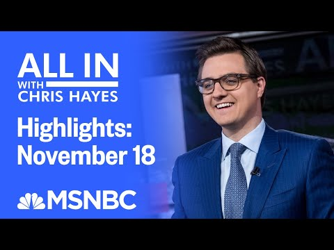 Watch All In With Chris Hayes Highlights: November 30 | MSNBC