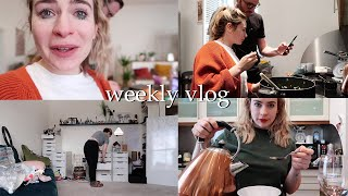 REARRANGING MY OFFICE + COOKING | Weekly Vlog #146