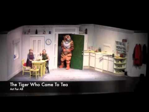 The Tiger Who Came To Tea - Art For All Dubai Theater