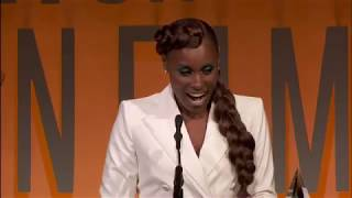 Issa Rae Receives the Emerging Entrepreneur Award at the 2019 Women In Film Annual Gala