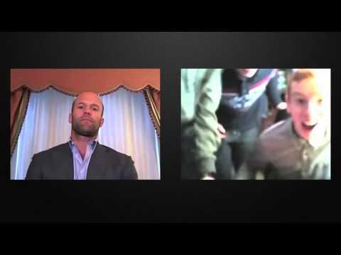 Джейсон Стэтхэм в видеочате Часть 2 Jason Statham On Chatroulette