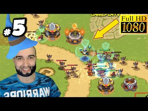 Realm Defense: Hero Legends TD Gameplay- #5 - LIGHTNING GOD! (Android Walkthrough)