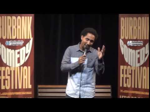 Sean G. at the Burbank Comedy Festival