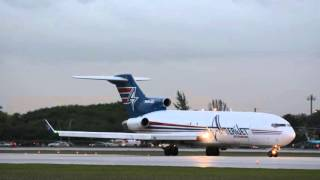 INSANELY LOUD!!!! 727 TAKEOFF Amerijet At Miami International