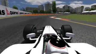 Jenson Button win the Australian Grand Prix 2009