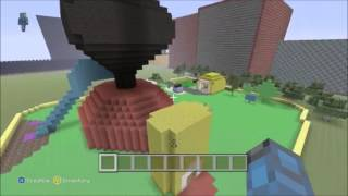 Mickey Mouse Clubhouse on Minecraft