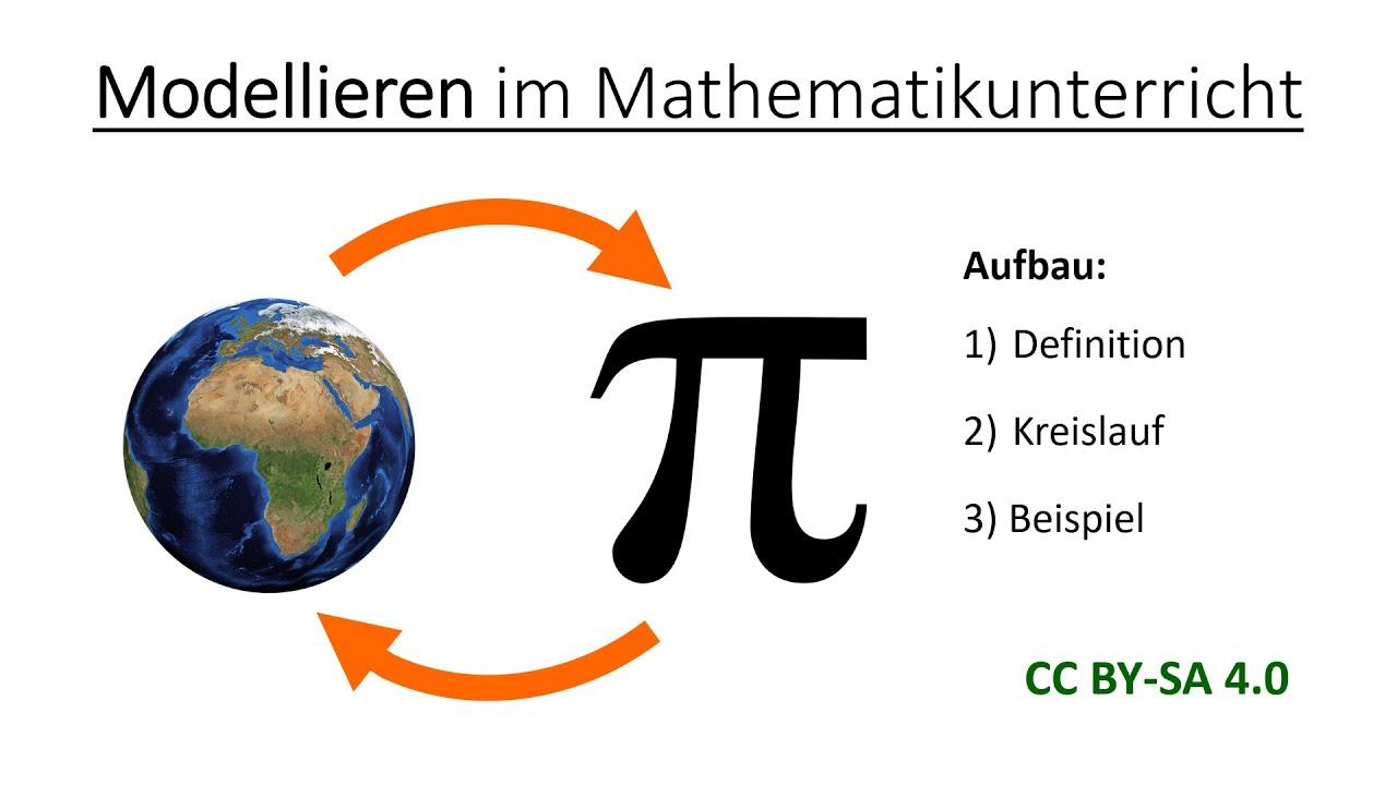 Modellieren im Mathematikunterricht   Mathematik und ihre Didaktik