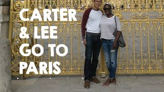 Blasian Couple Goes to Paris (Carter & Lee edition) 2016