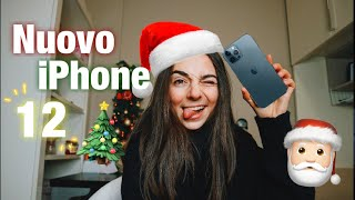 REGALO ANTICIPATO🎁 NUOVO IPHONE 12📞 VLOGMAS N.1🎄🎅🏻 |LO|💕