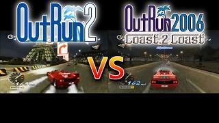 Outrun 2 (Xbox) Vs Outrun 2006: Coast 2 Coast (PC)