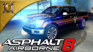 Asphalt 8: Airborne (PC) - Venice - Ford F 150 -Gameplay (1080p 60fps)
