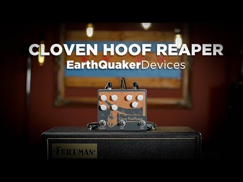 Earthquaker Devices Cloven Hoof Reaper Dual Fuzz Pedal Demo