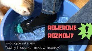 Rowerowe Rozmowy: Testujemy wodoodporne skarpety na rower Endura Hummvee