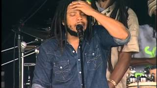 Stephen & Damian Marley - No Woman No Cry - 8/2/2008 - Newport Folk Festival (Official)