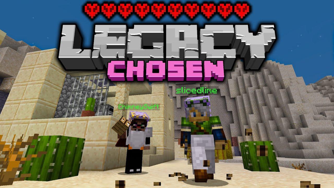 Legacy Chosen Challenge - GOTTA BE CAREFUL - Day 2 [Minecraft 1.16 Multiplayer]