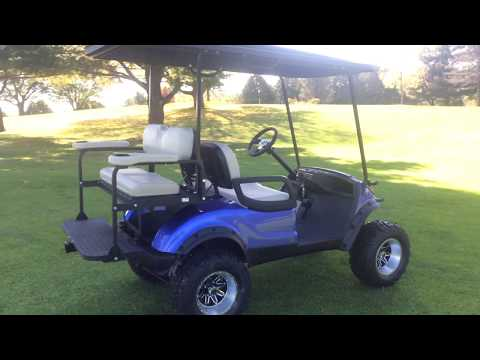 2012 Yamaha Drive Reconditioned Gas Purple(2)