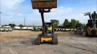Sold! 2012 Volvo MCT125 Tracked Skid Steer Loader Aux Diesel Low bidadoo.com