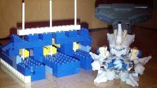 B-Daman Crossfire - Lego Surge Strike Arena Review HD