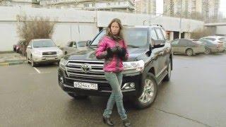 Toyota Land Cruiser/Тойота Ленд Крузер Обновленный. Красиво Сняли) Лиса Рулит.