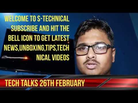 Tech Talks | Tech News 22nd February | Nokia 7 Plus,Huawei MateBook X Pro Laptop, MediaPad M5 Tablet