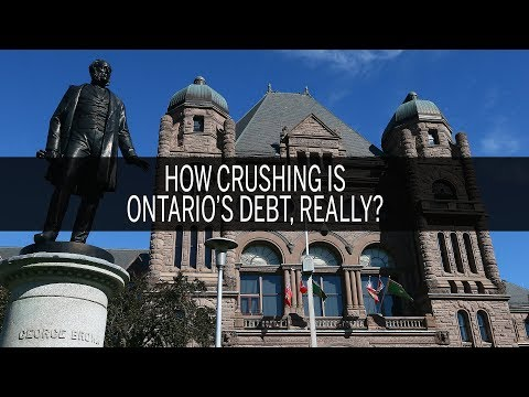 How crushing is Ontario's debt, really?