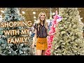 CHRISTMAS DECOR SHOPPING + MY BIRTHDAY | leighannvlogs
