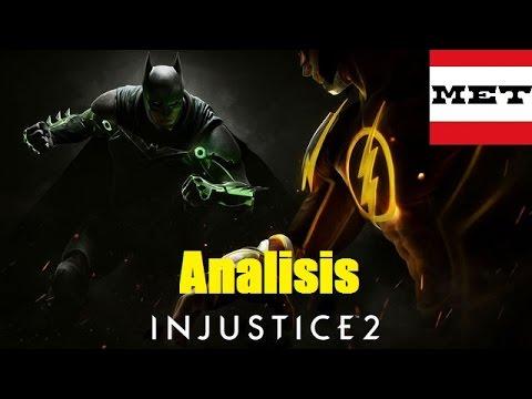 Analisis trailer Injustice 2