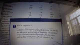 Чтение параметров диагностики USB-OBD2 Subaru (ECU Explorer)