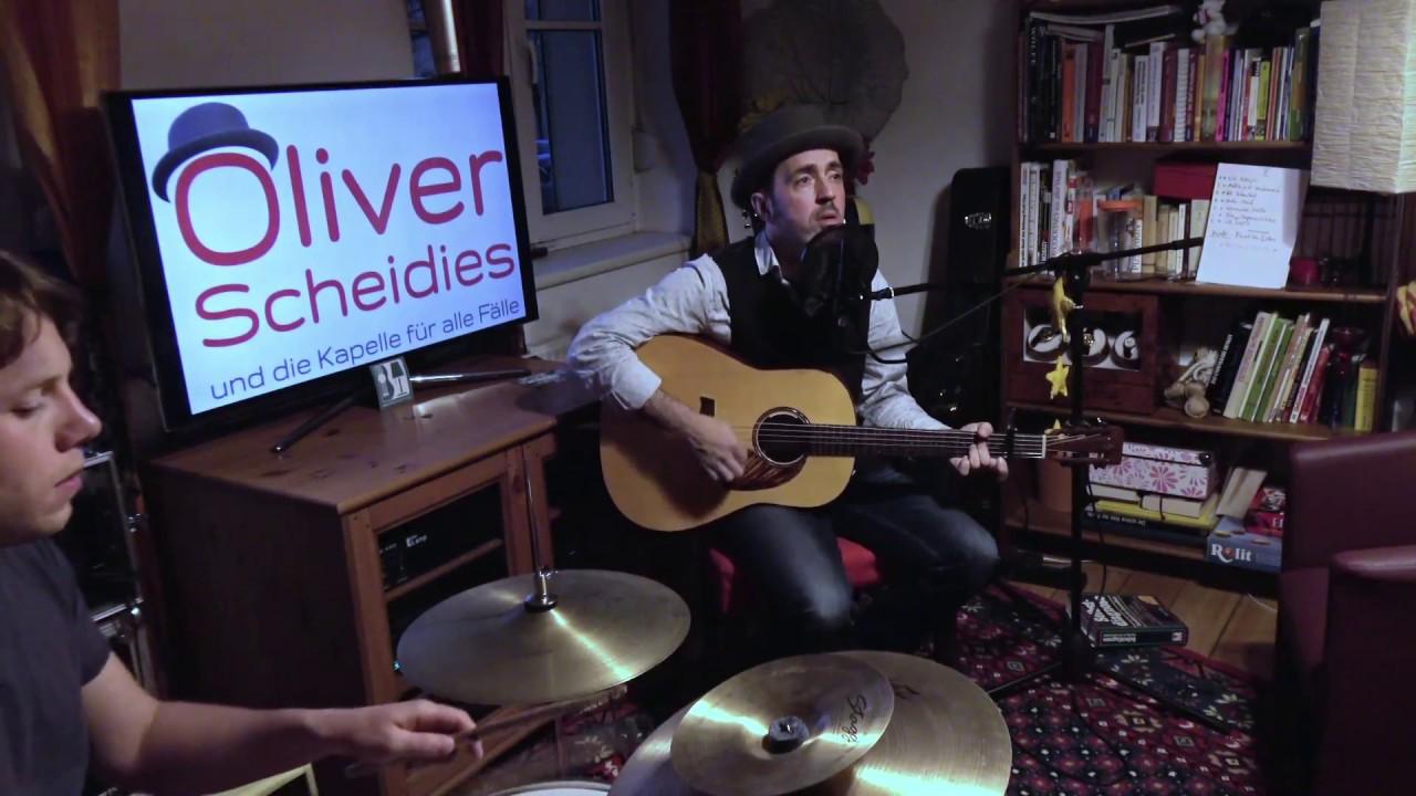 4 Unplugged Wohnzimmer Konzert Mit Oliver Scheidies