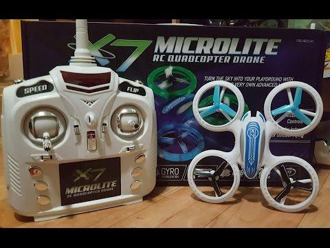 ODYSSEY X7 Mircolite RC Quadcopter Drone. Its So BRIGHT!!!!!!!!!!