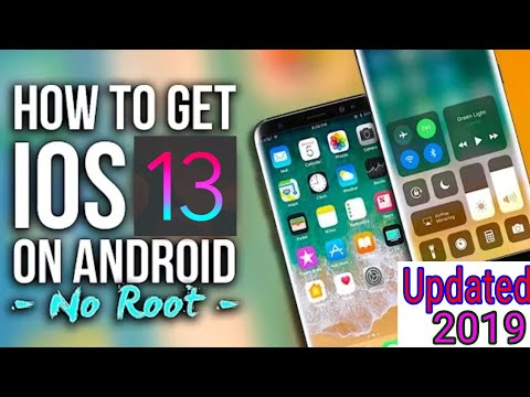 How to make Android mobile look like iPhone iOS 13! Install ios13 launcher any Android device.