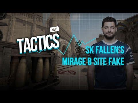 How SK FalleN ran a fake on Mirage vs VP