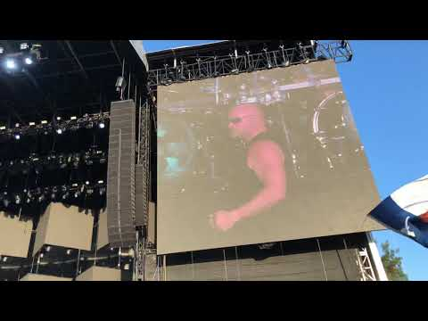 Disturbed - Intro Are You Ready Live - Austin City Limits  Music Festival - 10/13/18