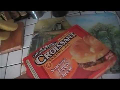 How To Cook Yourself A Jimmy Dean Croissant Breakfast Sandwich