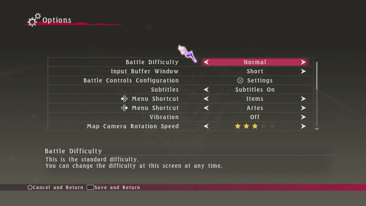 Tales of Berseria - Difficulty Differences