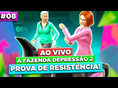 8º EP AO VIVO - NOVA PROVA DE RESISTÊNCIA NA FAZENDA DEPRESSÃO 2