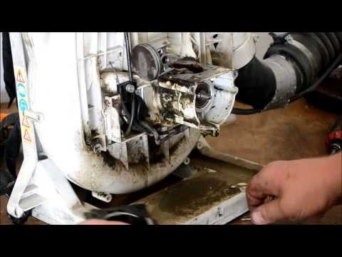 STIHL BLOWER REPAIR / BR420 MAGNUM / DIAGNOSIS / TEARDOWN AND COMPLETE ENGINE RESEAL / IN 1080HD
