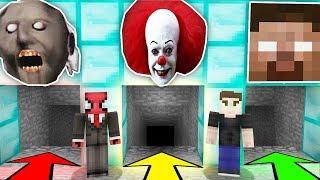 YANLIŞ KORKUNÇ MAĞARAYI SEÇERSEN ÖLÜRSÜN! - Minecraft