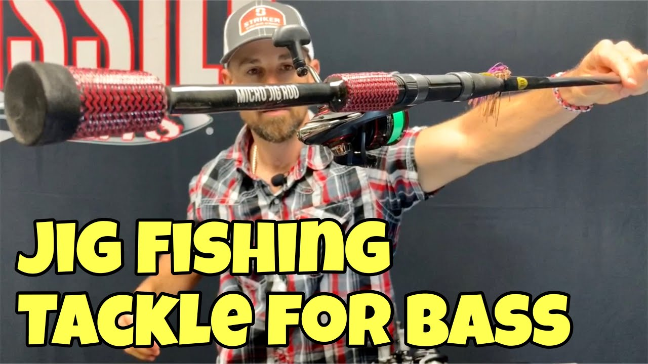 JIG FISHING TACKLE FOR BASS