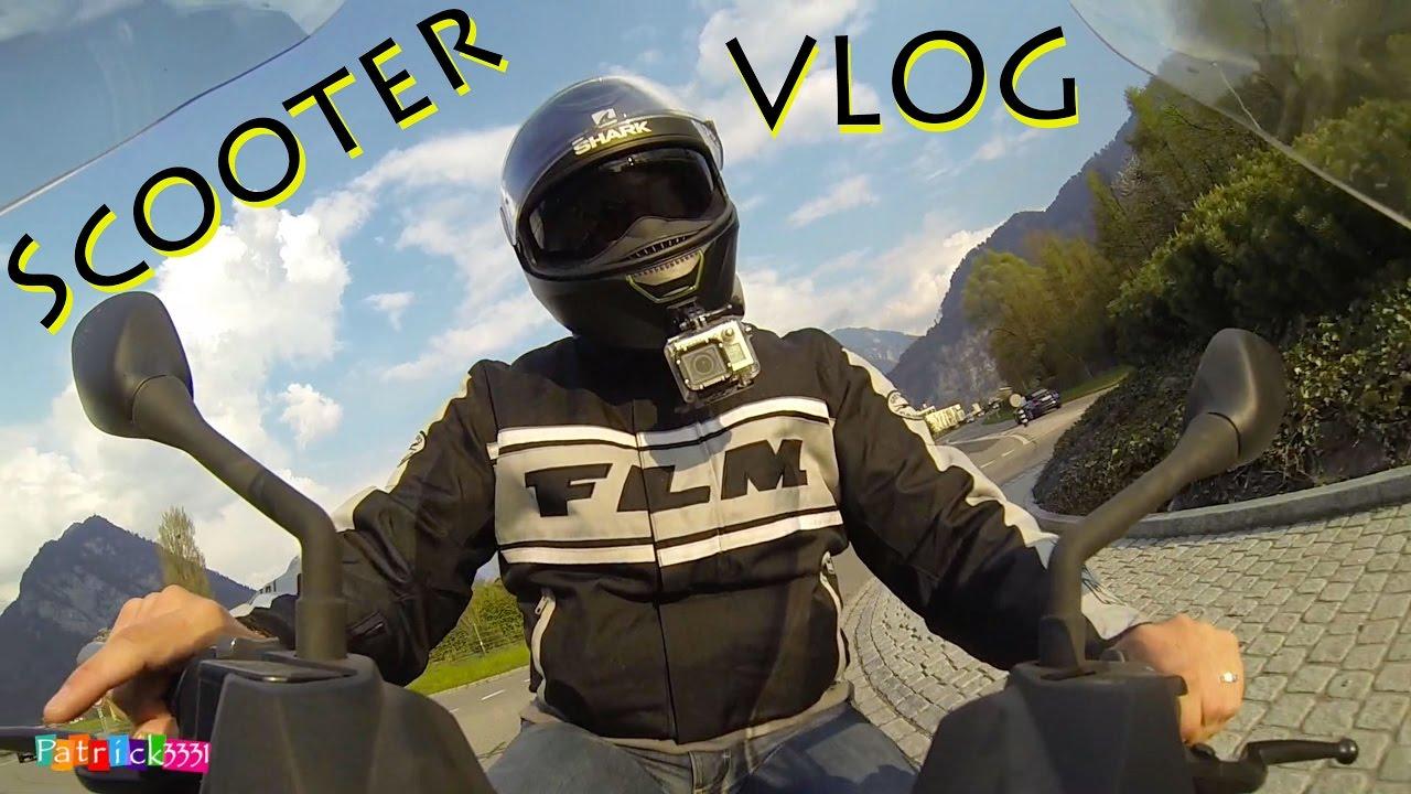 scooter vlog neuer helm equipment test nr 1 2017 youtube. Black Bedroom Furniture Sets. Home Design Ideas