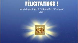 Fortnite I finished my last effort for season 8 combat pass !!!