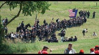 Civil War Reenactment Gettysburg 2017