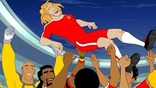 Supa Strikas | Klaus Encounters of the Nerd Kind | Soccer Cartoons for Kids | Sports Cartoon
