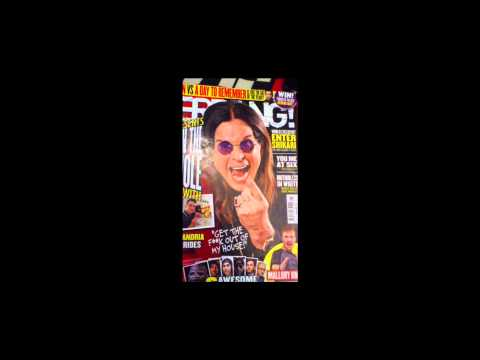 AS Media Studies - Kerrang! Magazine Front Cover Analysis
