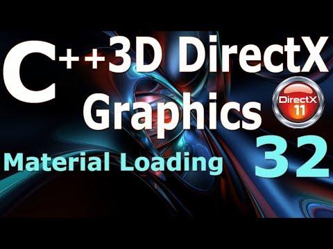 C++ 3D DirectX Tutorial [Material Loading] thumbnail